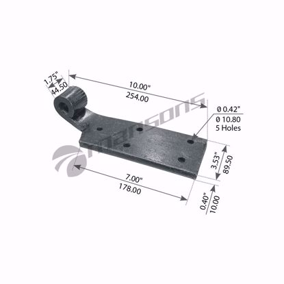 Shock Absorber Bracket, Rh