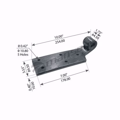 Shock Absorber Bracket, Lh
